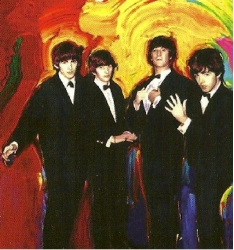 Beatles, from Rolling the the Stones